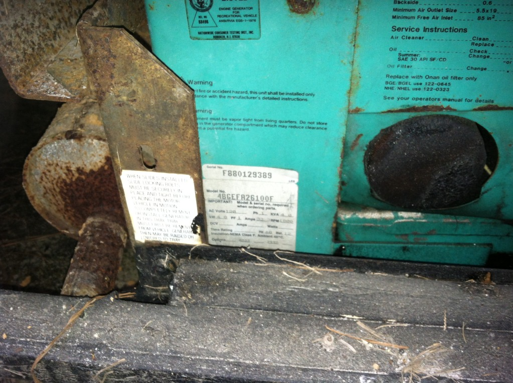 Onan generator high voltage to breakers - iRV2 Forums