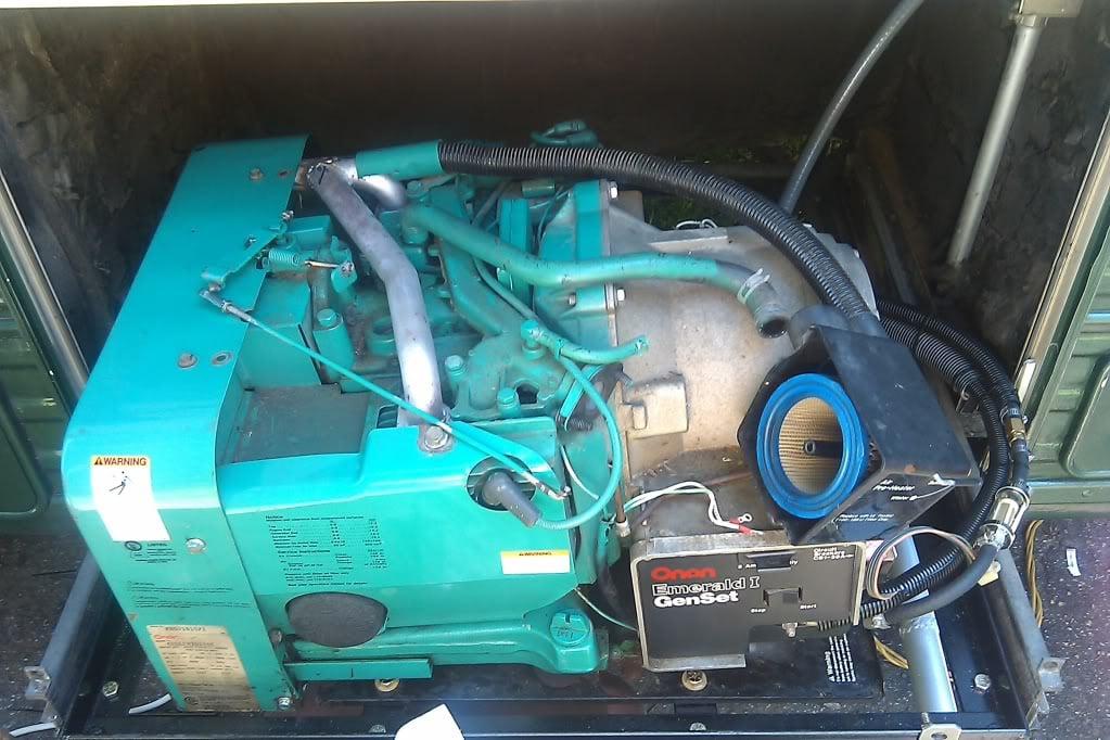 Onan Generator Maintaining And Running A 4000 Watt IRV2