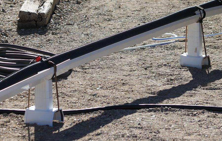 Rain gutter system for elevating sewer hose - iRV2 Forums