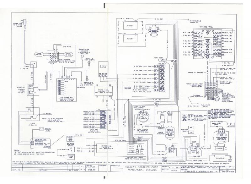 holiday rambler wiring diagram engine holiday rambler