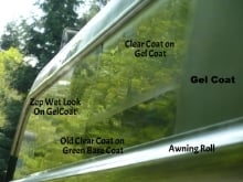 Clear coat peeling  - iRV2 Forums