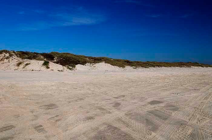 North Padre Island Texas beach camping