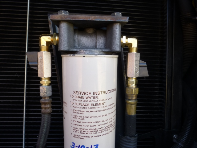 Prime Fuel Filter? - iRV2 Forums