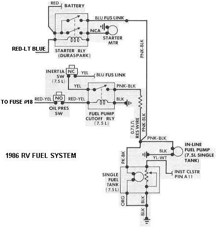 ford e 350 fuel injector diagram 1987 ford 7 5l 460  econoline chassis  starts but then dies  1987 ford 7 5l 460  econoline chassis