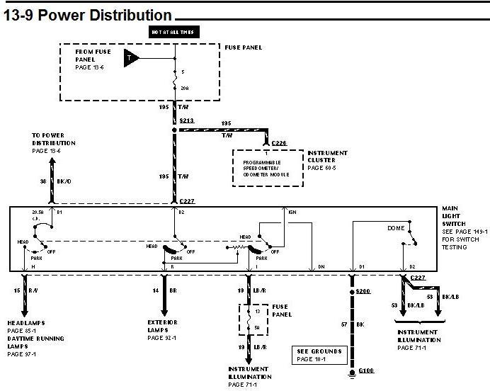 ford f53 wiring diagram for 2000 cannot turn off headlights/drls on 1997 f53 chassis - irv2 ...