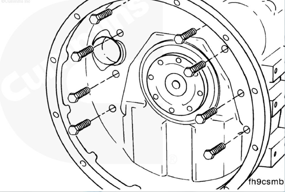 Oil Leak Inbetween Engine And Trans