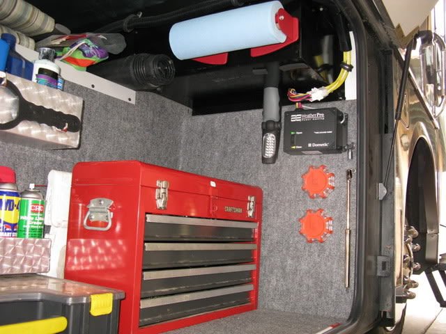 Outside Storage Compartment Lining - iRV2 Forums