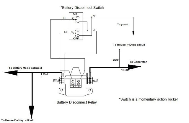 battery disconnect switch doesn t irv2 forums rh irv2 com Batteries in Series Diagram Battery Isolator Wiring-Diagram