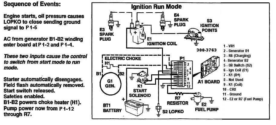Need schematic drawing of Onan 300-3763 circuit board - iRV2 Forums | Wiring Schematic For Onan Engine |  | iRV2 Forums