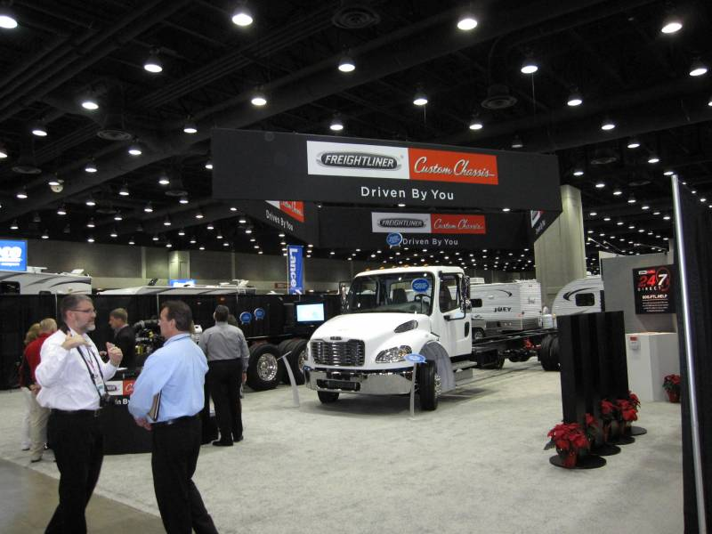 Freightliner Custom Chassis Introduces NEW S2 RV Chassis
