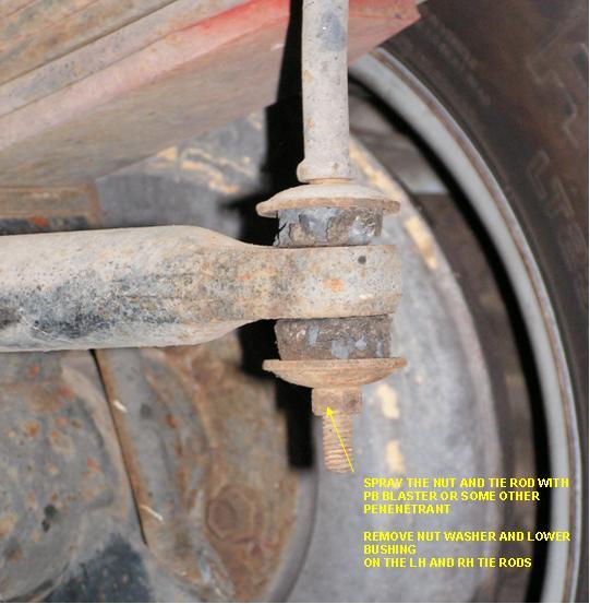 Overhaul Rear Sway Bar Bushings 95 Ford F53 Irv2 Forums