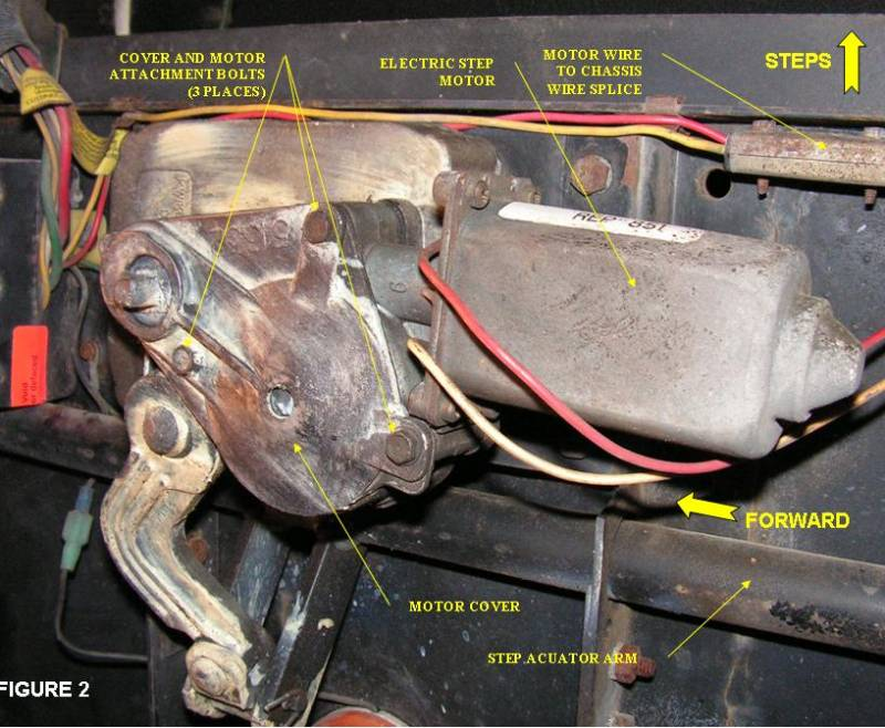Changing The Kwikee Step Motor Overview Irv2 Forums