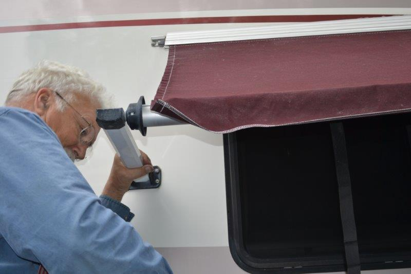 RV.Net Open Roads Forum: How to replace an awning strap ...