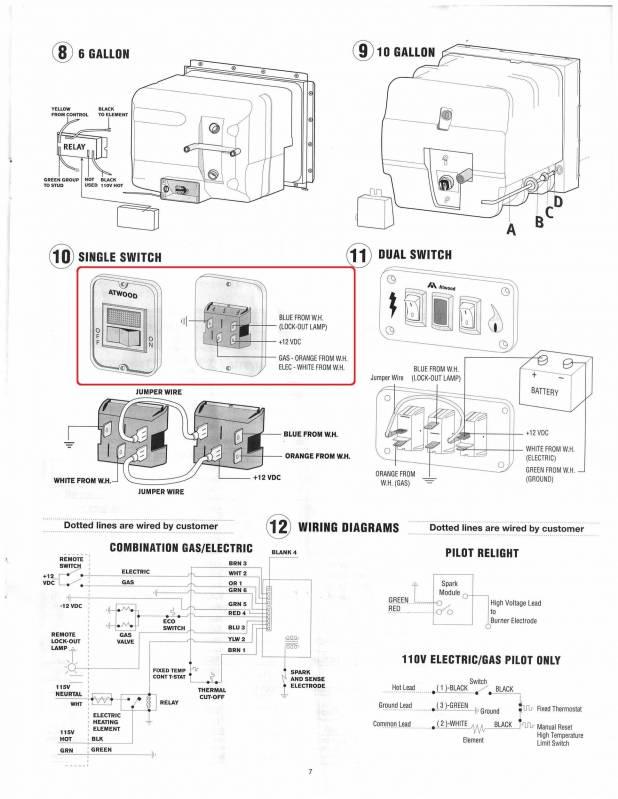 Rv Heater Wiring Diagram : Suburban rv furnace wiring diagram heater