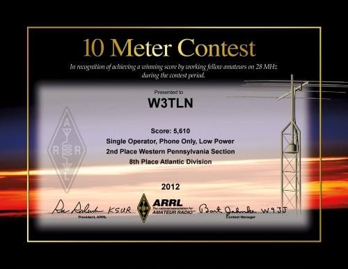 2012_W3TLN_ARRL_10m_contest