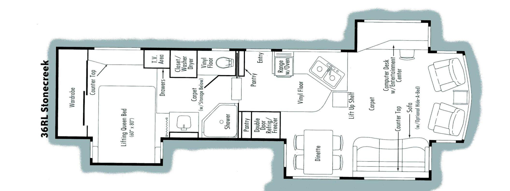Alpenlite Fifth Wheel Floor Plans TheFloorsCo