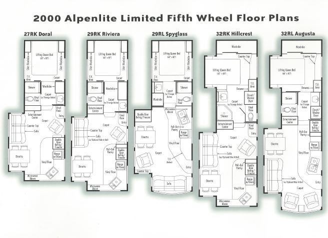 Alpenlite_Floorplans owner's manual for my trailer? irv2 forums 22 ft alpenlite 5th wheel wiring diagram at crackthecode.co