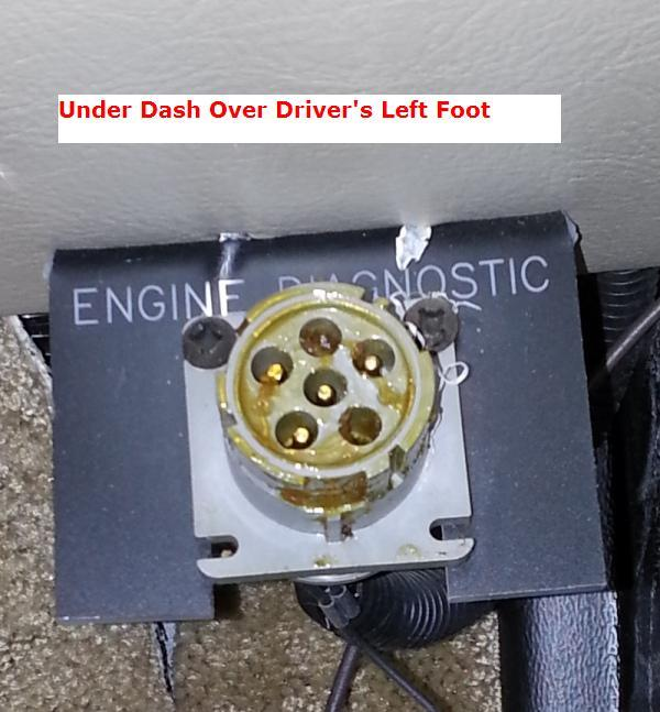 OBD-II Connection Location - iRV2 Forums