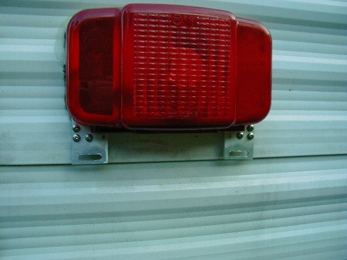 Fixed broken license plate holder. - Jayco RV Owners Forum