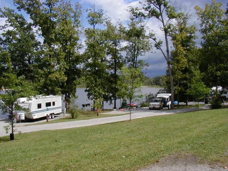 Keystone state park derry pa lakeside campsites irv2 com rv photo