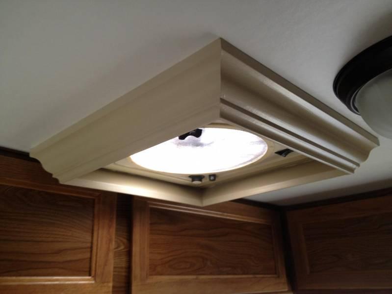 ceiling fan in the bedroom rv photo gallery