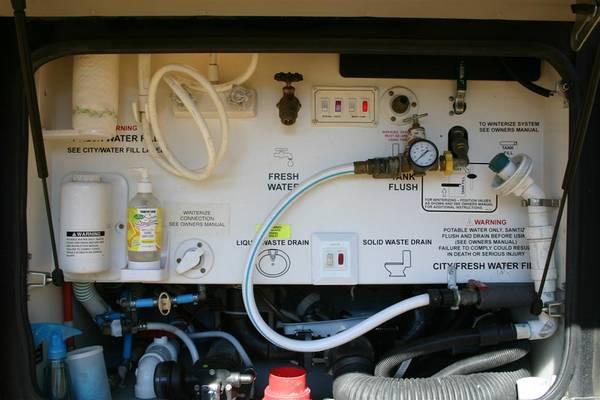 rv net open roads forum class a motorhomes water pump question. Black Bedroom Furniture Sets. Home Design Ideas