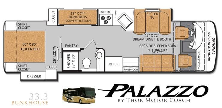 Palazzo Diesel Pushers Get New Floorplan Duo