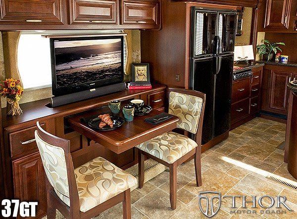 Thor Motor Coach Takes Kitchen Space To A Whole New Level