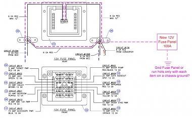 converter upgrade w rv custom products battery control. Black Bedroom Furniture Sets. Home Design Ideas