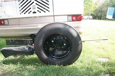 roadmaster spare tire carrier irv2 forums. Black Bedroom Furniture Sets. Home Design Ideas