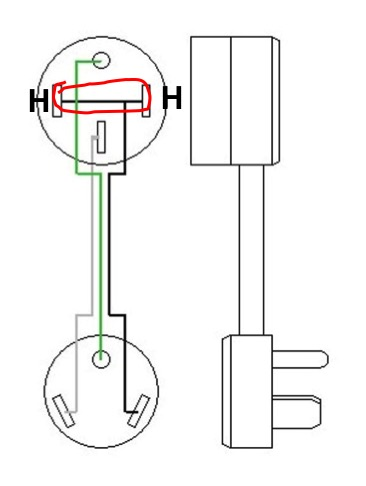 50 amp to 30 adapter wiring diagram  schematic wiring