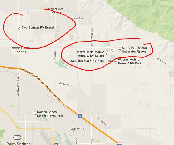 Heading To Palm Springs This Weekend RV Parks