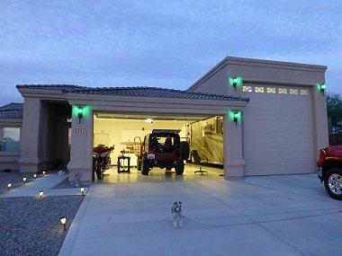Rv garage homes nm az tx mt fl irv2 forums for Rv garage homes florida