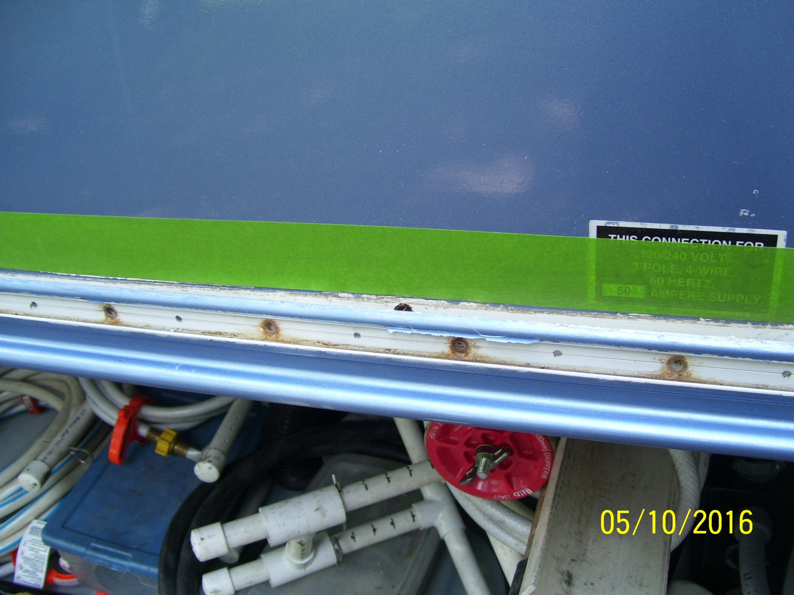 Removing storage compartment door - iRV2 Forums