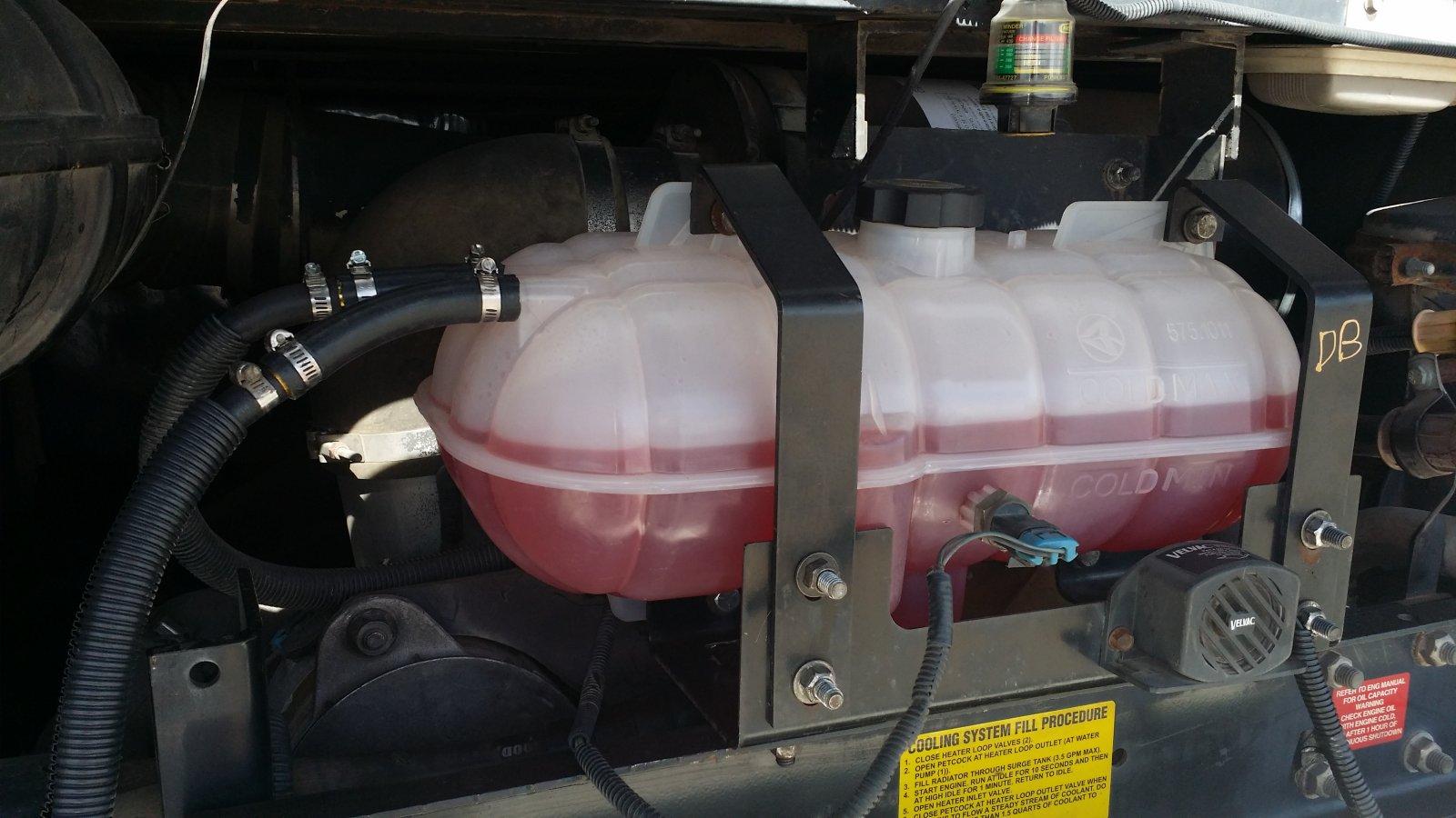 Plastic Coolant Surge Tank replacement - iRV2 Forums