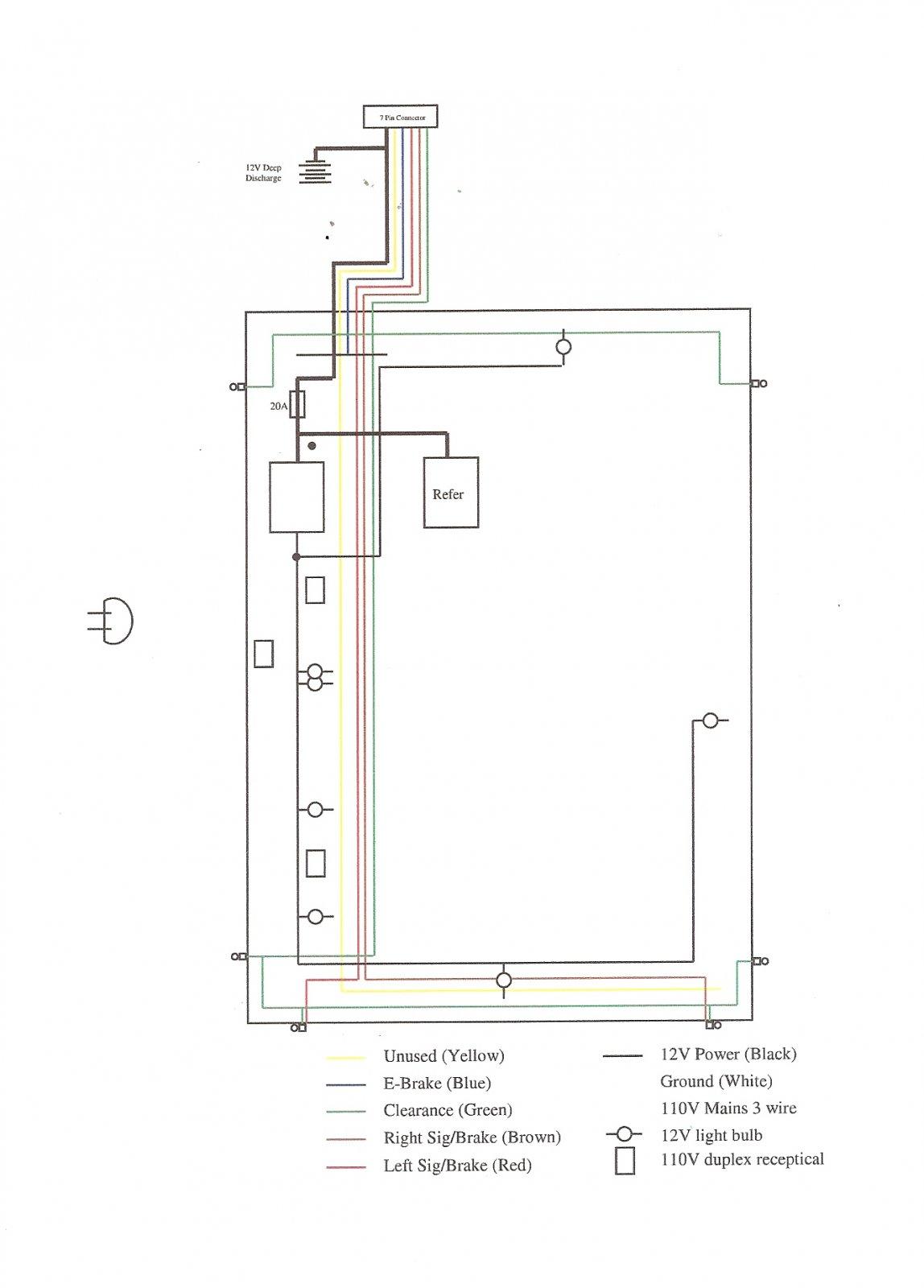ford 7 pin trailer wiring diagram pin