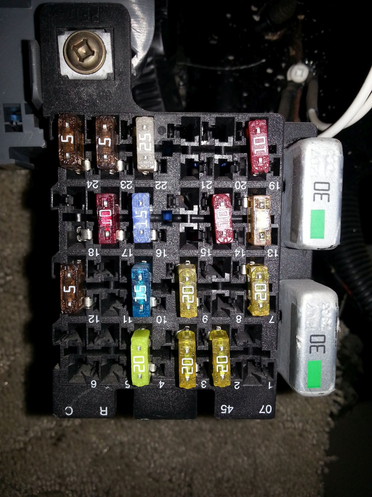 Fuse Box On A Coachman Catalina Rv - Wiring Diagram