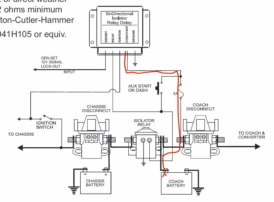 Wiring diagram for rv batteries the