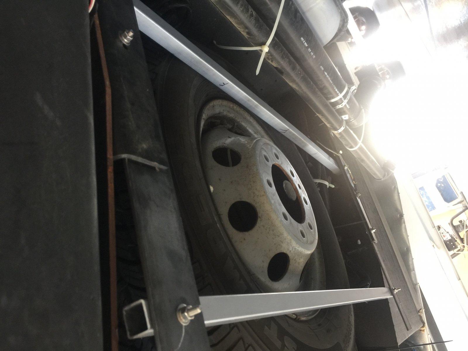 2017 Thor 22B Ford E450 Spare Tire - iRV2 Forums