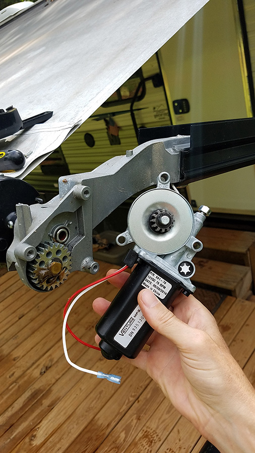 Awning Motor Repair iRV2 Forums