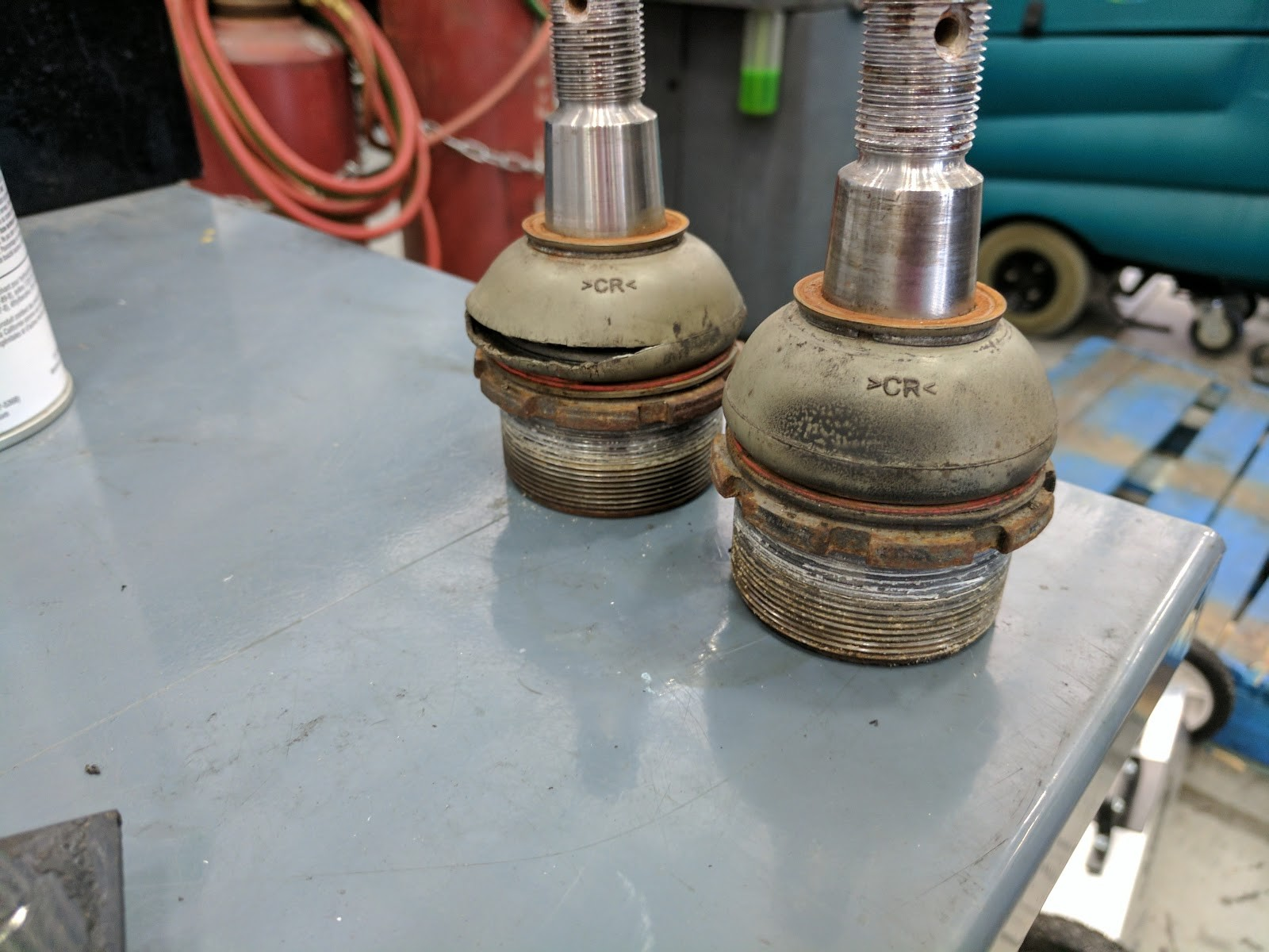 At Spartan for Ball Joints/Inspection - iRV2 Forums
