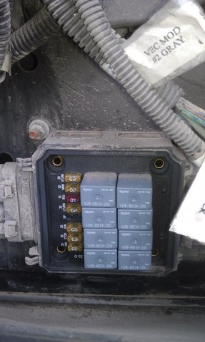 freightliner classic fuse box location freightliner xc chassis auxilary fuse/relay box - irv2 forums