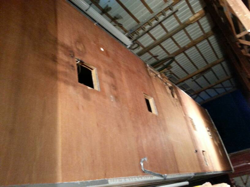 2000 Georgie Boy Cruise Master New Roof and wall repair - iRV2 Forums