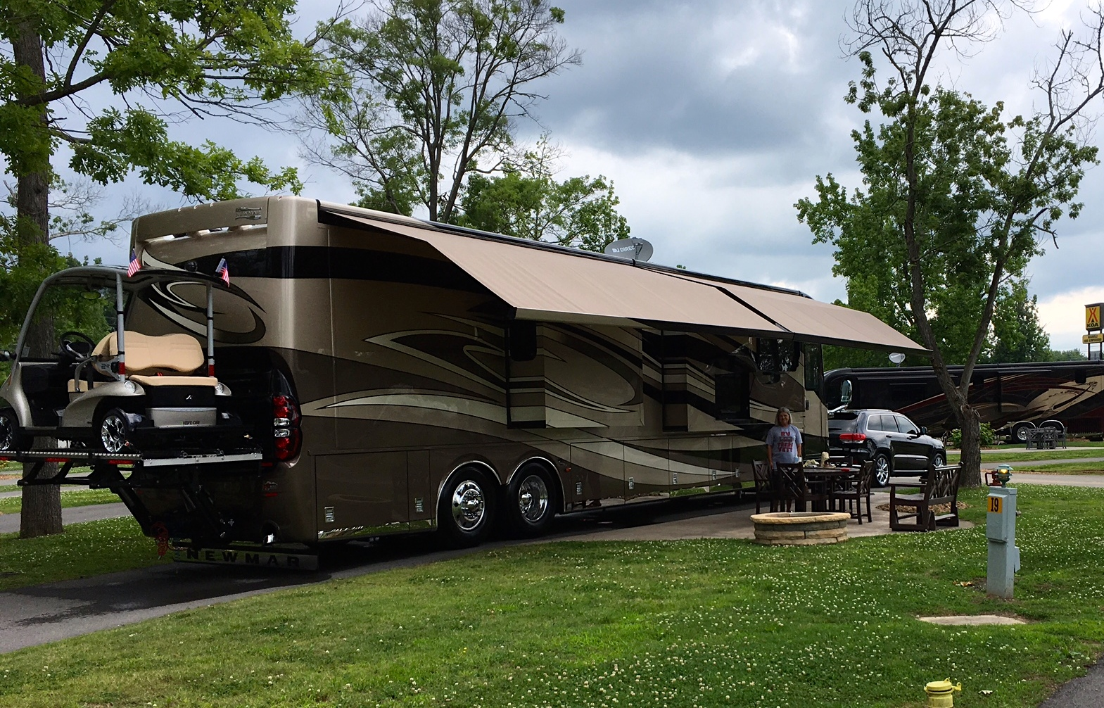 Golf Cart Rack - iRV2 Forums Golf Cart Haulers Campers Html on