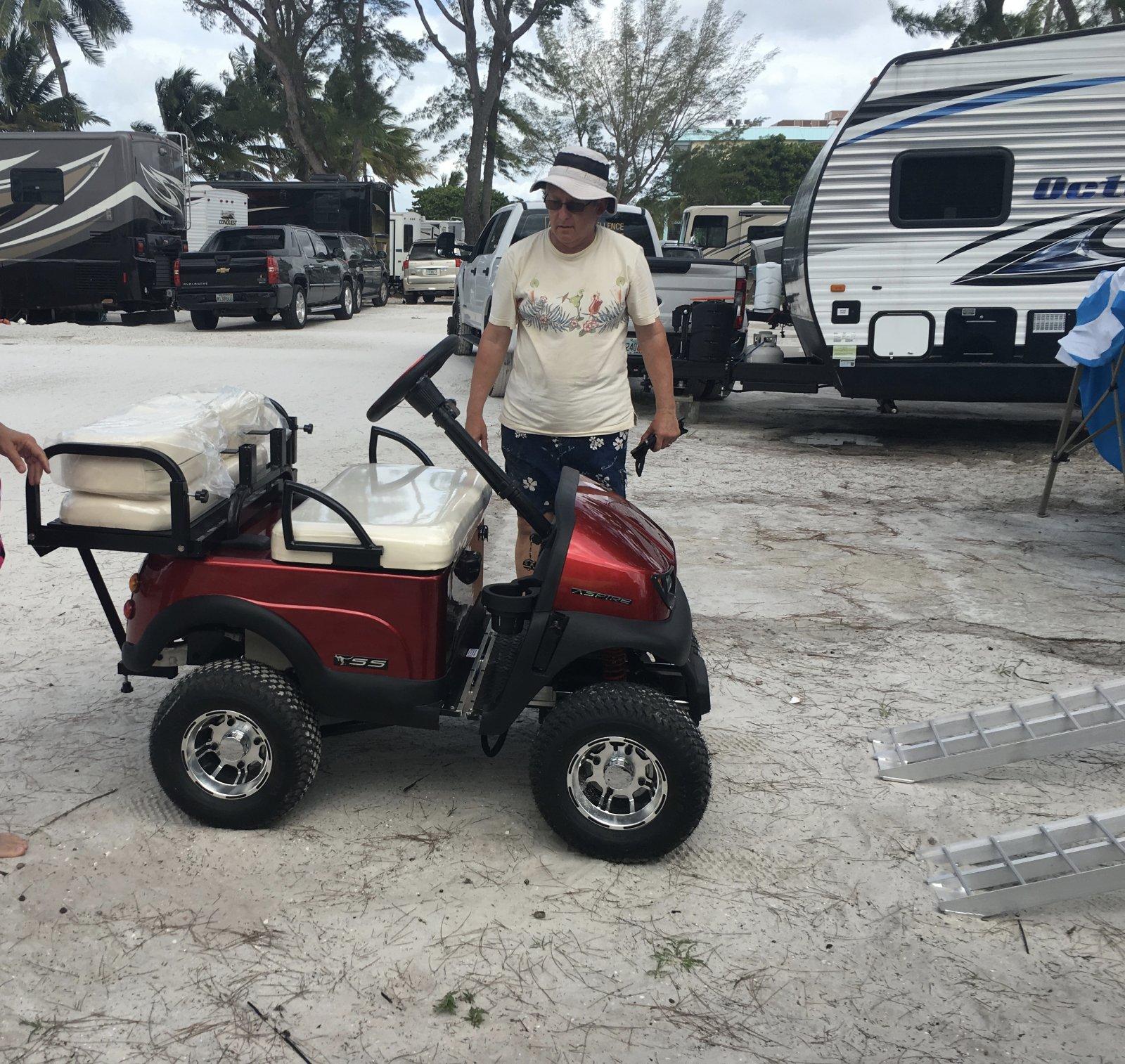 Golf Cart Vintage Camper Html on