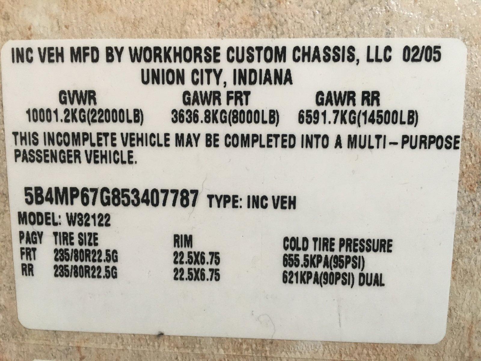 Workhorse brake recall status - iRV2 Forums