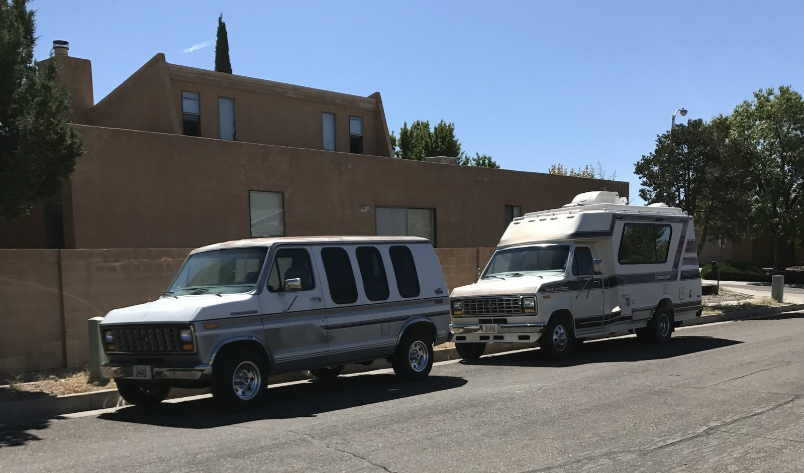 Two 1990 Ford Vans, E150 & E350 Chinook - iRV2 Forums