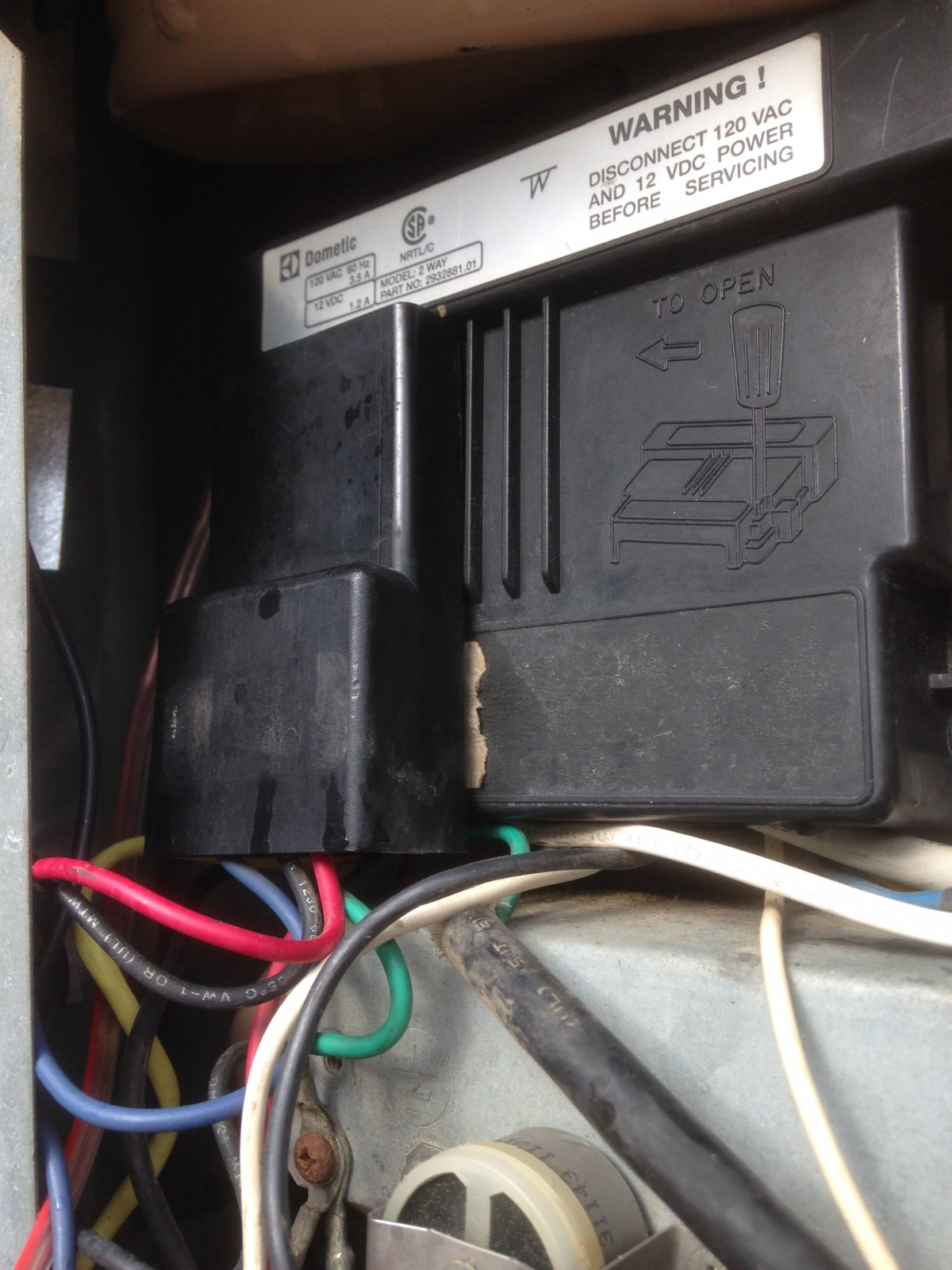 Dometic RM 1272 wiring diagram anyone? - iRV2 Forums