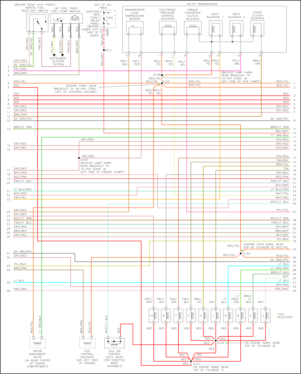 F53 brake lights - iRV2 Forums | Ford F53 Steering Column Wiring Diagram |  | iRV2 Forums