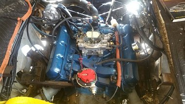 1972 Revcon 250 engine replacement thru the side door - iRV2
